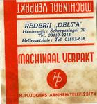 SZ0549. Rederij Delta.