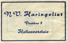 SZ0550. N.V. Haringvliet.
