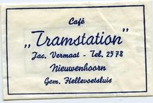 SZ0608. Café Tramstation.