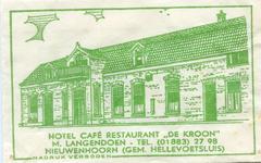 SZ0613. Hotel, Café, Restaurant De Kroon.