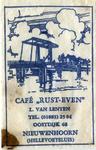 SZ0614. Café Rust Even.