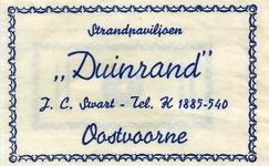 SZ0916. Strandpaviljoen Duinrand.
