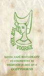 SZ0924. Hotel, Café, Restaurant Hof van Voorne.