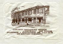 SZ0927. Café, Petit-restaurant, pension Centraal - les routiers europeens.