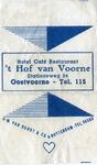 SZ0939. Hotel Café Restaurant 't Hof van Voorne.