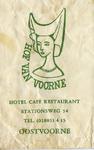 SZ0952. Hotel café restaurant Hof van Voorne.