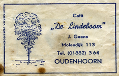 SZ1003. Café De Lindeboom.