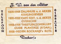 SZ1132. Rockanje's Rots, 1938 - heden.