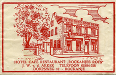 SZ1134. Hotel, Café, Restaurant Rockanje's Rots.
