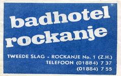 SZ1137. Badhotel Rockanje.