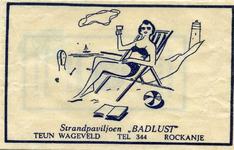 SZ1140. Strandpaviljoen Badlust.