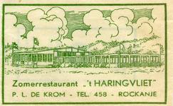 SZ1142. Zomerrestaurant 't Haringvliet.