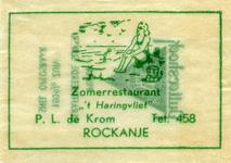 SZ1144. Zomerrestaurant 't Haringvliet.