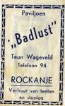 SZ1146. Paviljoen Badlust - verhuur van tenten en stoelen.