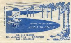 SZ1147. Hotel, Restaurant, Bar, Dancing Casa Blanca.