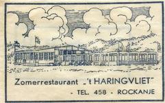 SZ1149. Zomerrestaurant 't Haringvliet.