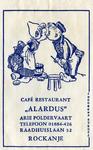 SZ1153. Café, Restaurant Alardus.