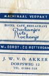 SZ1160. Hotel, Café, Restaurant Rockanje's Rots.