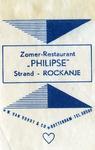 SZ1163. Zomer-restaurant Philipse.