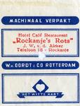 SZ1171. Hotel, Café, Restaurant Rockanje's Rots.