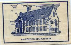 SZ1407. Raadhuis Spijkenisse.
