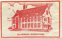 SZ1408. Raadhuis Spijkenisse.