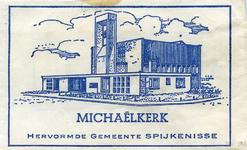 SZ1409. Michaëlkerk - hervormde gemeente Spijkenisse.