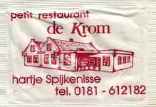 SZ1426. Petit restaurant De Krom - hartje Spijkenisse.