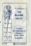 SZ1427. Koffieshop De Blauwe Halte.
