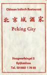 SZ1440. Chinees Indisch Restaurant Peking City.
