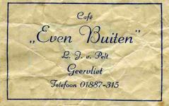 SZ0207. Café Even Buiten.