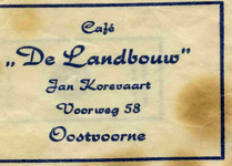 SZ0947. Café De Landbouw.