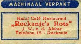 SZ1170. Hotel, Café, Restaurant Rockanje's Rots.
