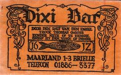 SZ0106. Dixi Bar.