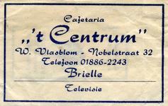 SZ0130. Cafetaria 't Centrum.