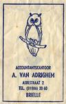 SZ0134. Accountantskantoor A. van Adrighem.