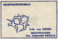 SZ0142. Architectenbureau G.B. van Driel.