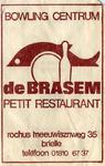 SZ0155. Bowlingcentrum, petit restaurant De Brasem.