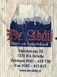 SZ0156a. Bier- en spijslokaal De Abdij.