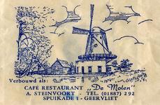 SZ0203. Café restaurant De Bernisser Molen.