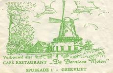 SZ0204. Café restaurant De Bernisser Molen.