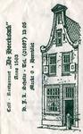 SZ0302. Café restaurant 'De Hoecksack' anno 1563.