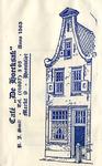 SZ0303. Café restaurant 'De Hoecksack' anno 1563.