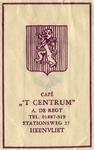 SZ0306. Café 't Centrum.