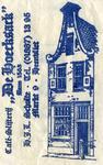 SZ0307. Café restaurant 'De Hoecksack' anno 1563.