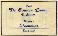 SZ0309. Café De Gouden Leeuw - taxibedrijf.