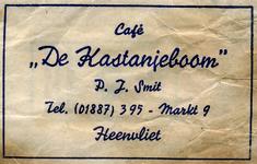 SZ0310. Café De Kastanjeboom.