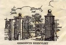 SZ0311. Gemeente Heenvliet.