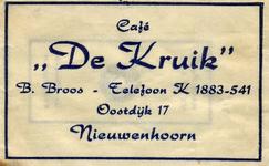 SZ0602. Café De Kruik.