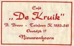 SZ0605. Café De Kruik.